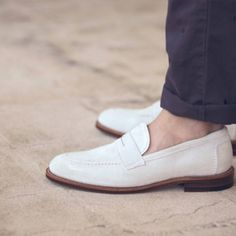 white shoes, loafer, dressings, pennies, men fashion, men footwear, men's footwear, men shoes, rocks
