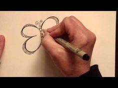Joanne Fink's Zenspirations - add patterns to doodles/drawings