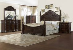 Cassara Poster Bed set.