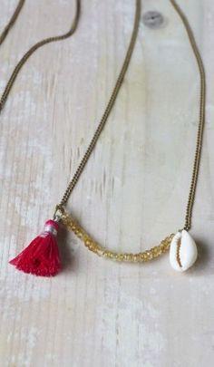 Shell Necklace - Plümo Ltd