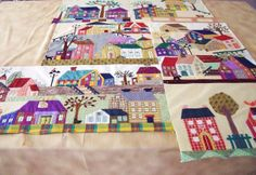 my stitching and other journeys: no more houses on this quilt