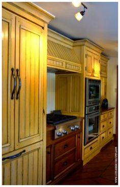 Mustard Seed Yellow kitchen