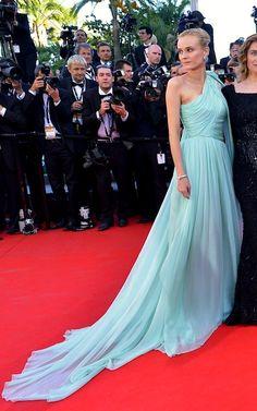 Cannes 2012 - Diane Kruger in custom-made Giambattista Valli