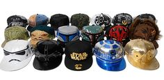 Star Wars caps - lots of designs