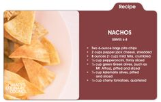 Kock it out of the park with Chef Cat Cora's game day nachos only at mblog.macys,com