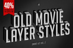 Old Movie Titles - Smart Kit Vol. 2 by ThunderPixels Store on Creative Market