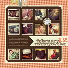 Scrapbook Layout by Jennifer Hignite #digiscrap #scrapbooking