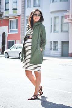You too can be this cute and fashionable at Shop at MotherhoodCloset.com Maternity BEST selection of New and Gently Used Maternity clothes online!    #maternity #pregnancy #outfit #style #fashion