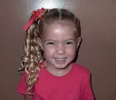 little girls, poni, picture day, school, braid, little girl hairstyles, daughter, hair style, hairstyl twist