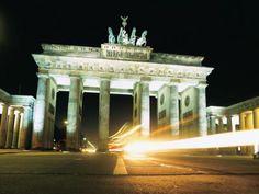 favorit place, bucket list, art, favourit place, berlin night, germani, gates, light, brandenberg gate