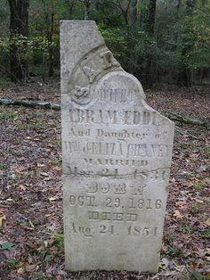 Old Gravestone Along the Old Trace