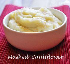 Mashed Cauliflower   Healthy Recipes Blog