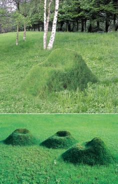 grass chair. this is going in my backyard!