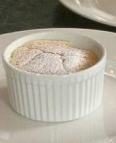 English Bittersweet Lemon Pudding #recipe