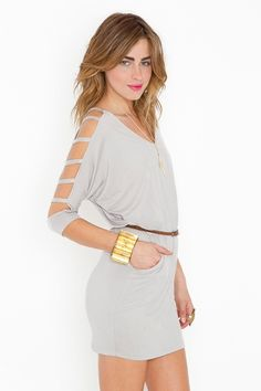 cut out sleeves