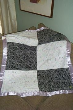 Easy Sewing Projects - baby blanket