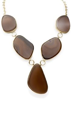 by Marcia Moran  Organic Shape Necklace, Natural