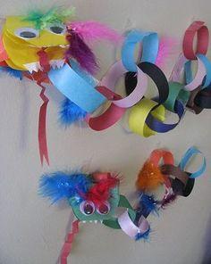 Paper Chain Dragon...