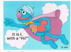 Super Grover Valentine
