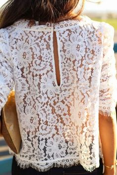 lace top, lace outfit