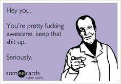 Yeah you!