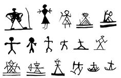 hunter tools witchcraft   | Symbol of the witch, noide-dirre and a witch/shaman or a person who is ...