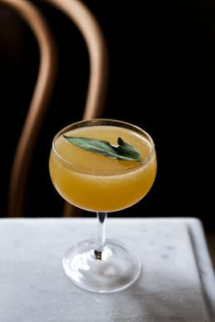 Five Leaves cocktail.