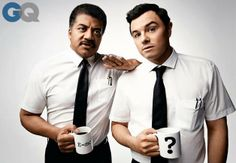 awesome: Neil Degrasse Tyson and Seth MacFarlane