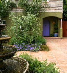 Spanish home design on pinterest spanish revival for Garden design ideas in spain