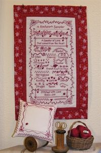 design redwork, redwork sampler, sewing rooms, embroidery stitches, birds, brain design, red work, embroideri, bird brain