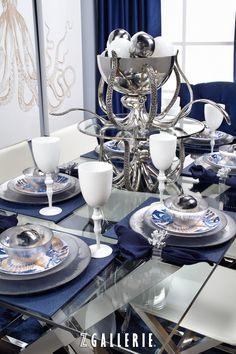 seaside-chic tableware