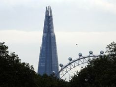 At 1,016 feet tall, the Shard is the tallest building in Western Europe.