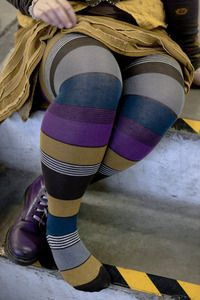 Portland tights in purple. Sadly these were recently discontinued.