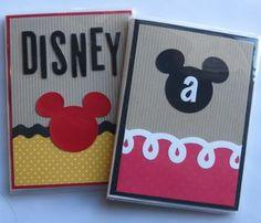 Disney DIY autograph books