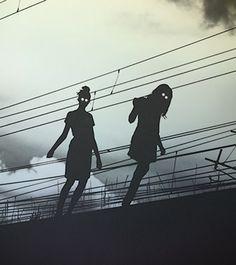 silhouett, the doors, scary pictures, dark side, ghost, dark shadows, halloween, eye, zombie walk