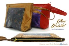 Laurel Burch Glam Wristlet by Paradiso Designs