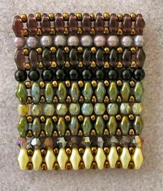 """Linda's Crafty Inspirations: Tutorial for the """"Mystery SuperDuo Bracelet"""""""