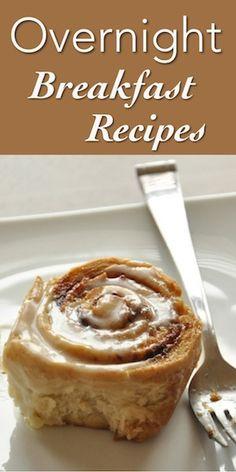 10 Irresistible Overnight Breakfast Recipes