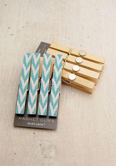 Magnet clips  -- I'm thinking craft night!