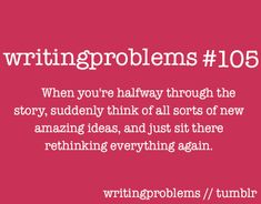 #writingproblems