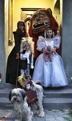I'm going to start working on this for next Halloween!   Labyrinth Family Costume - 2013 Halloween Costume Contest via @costumeworks