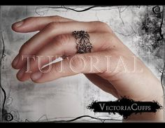 INSTANT DOWNLOAD One wire ring Tutorial Instant by VectoriaCuffs, €3.00