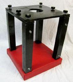 DIY idea: wood and leather bondage box
