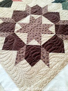 THE QUILTED PINEAPPLE: Swoon Quilt Reproduction Style