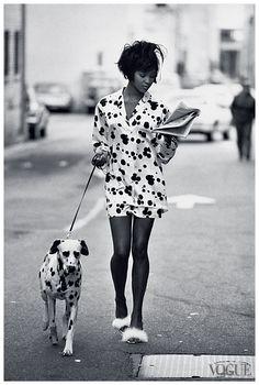 Naomi Campbell for V