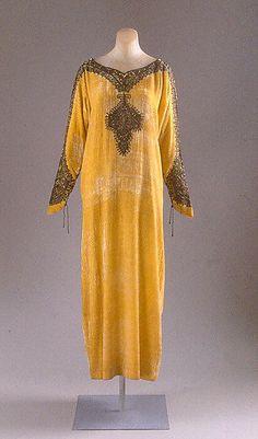 Dress  Vitaldi Babani, 1925  The Metropolitan Museum of Art