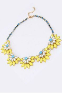 Flowers Necklace.