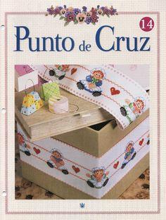 Revistas Cursos Descargas Gratis Punto De Cruz Nº14
