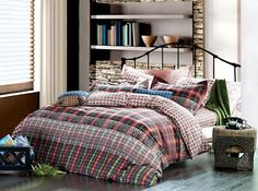 Eros Bedding Modern Masculine Duvet Cover Set by Dolce Mela DM480