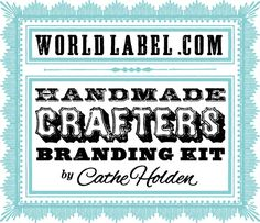 I think all crafters need these awesome printable labels! Courtesy of wordlabel.com